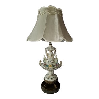 Early 20th Century Meissen Lamp For Sale