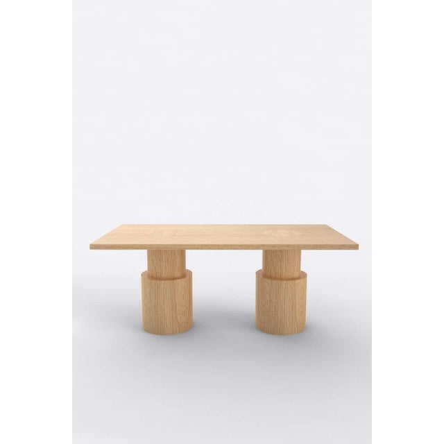 Postmodern Contemporary 102 Dining Table BLK by Orphan Work, 2020 For Sale - Image 3 of 4