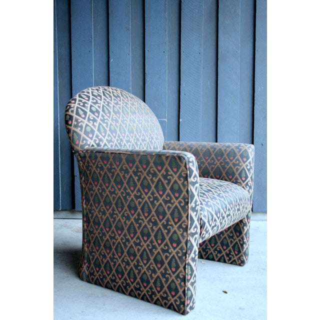 1980s Contemporary Armchairs, Set of 4 For Sale - Image 9 of 13