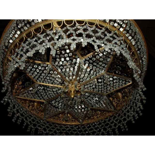 Antique Chandelier. Empire Style Chandelier - Image 7 of 7