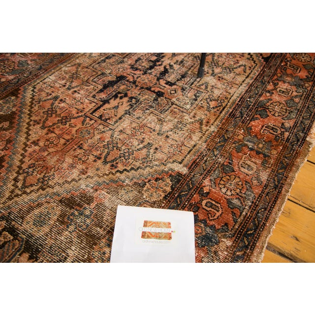 "Antique Distressed Malayer Rug - 3'4"" X 6'2"" - Image 7 of 7"