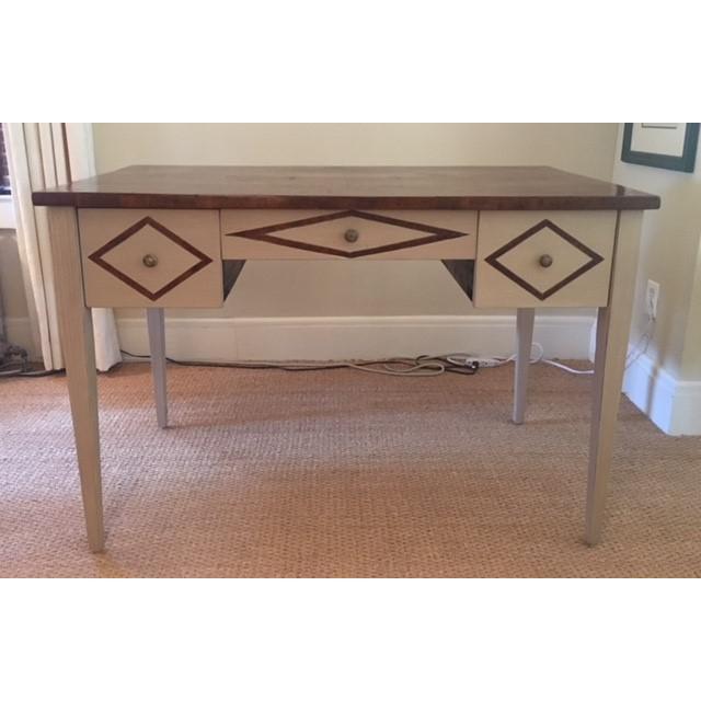 Brown Bennett Co. Custom Painted Desk For Sale - Image 8 of 8