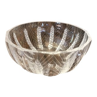 Lalique Ceres Decorative Bowl For Sale