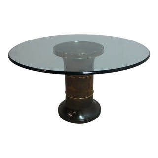 Vintage Art Deco Style Mastercraft Center Table For Sale