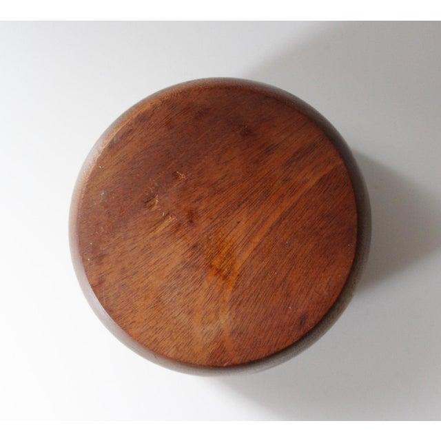 Mid-Century Vintage Teak Bowl - Image 5 of 5