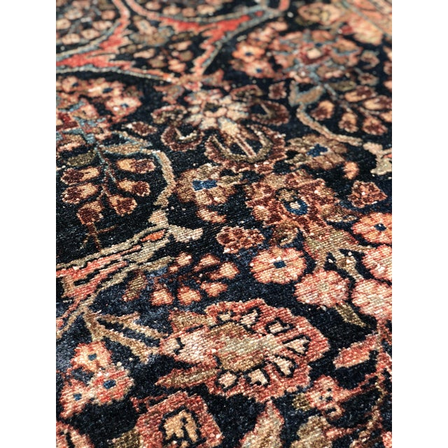 """1960s Persian Malayer Wool Runner - 3'5""""x19'4"""" For Sale - Image 9 of 13"""