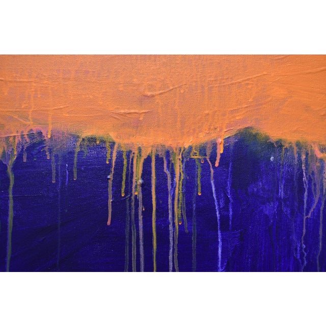 """2010s Stephen Remick """"Tempest"""" Abstract Painting For Sale - Image 5 of 12"""
