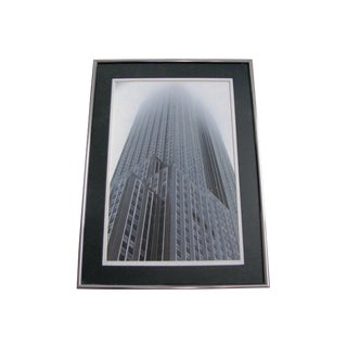 Vintage Photograph Looking Up at the Chicago Sears / Willis Tower For Sale