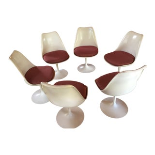 1950s Vintage Saarinen Chairs - Set of 6 For Sale