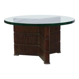 Early Coffee Table in Cerused Oak by Osvaldo Borsani For Sale