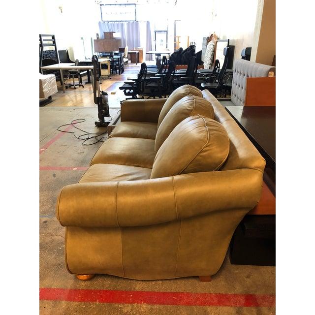 Miraculous Bradington Young Full Hide Nubuck Leather Sofa Short Links Chair Design For Home Short Linksinfo