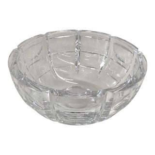 Simon Gates for Orrefors Crystal Bowl