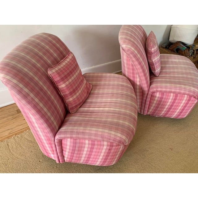 Directional Furniture Clamshell Chair - A Pair For Sale - Image 6 of 9