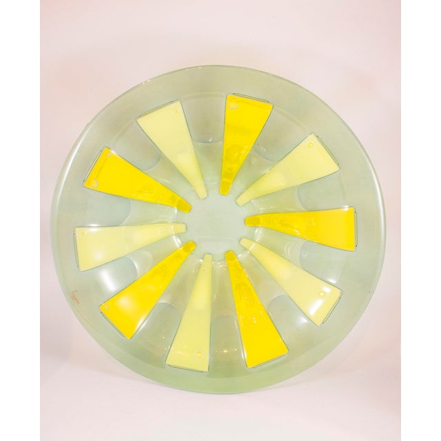 Mid-Century Modern Mid-Century Higgins Fusion Glass Bowl For Sale - Image 3 of 5