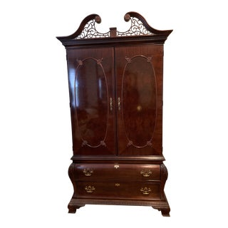 Chippendale Armoire by Century Furniture For Sale
