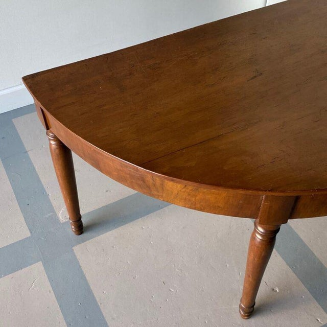 Brown 19th Century Italian Console Tables - a Pair For Sale - Image 8 of 9
