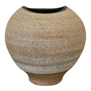 Sculptural Contemporary Stoneware Ceramic Vase