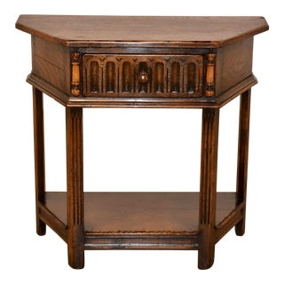 Late 19th Century Six Sided Side Table For Sale