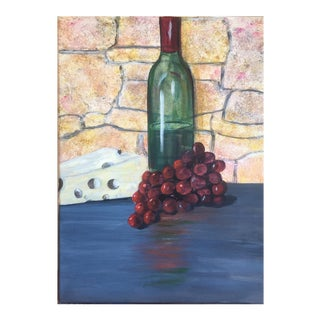 """""""Bring Out the Wine"""" Painting For Sale"""