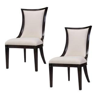 Sarreid Ltd. Parisian Dining Side Chairs - A Pair For Sale