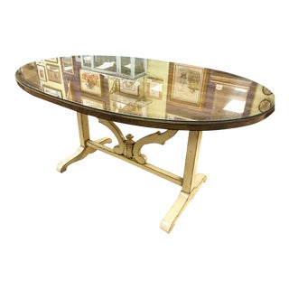 Century Furniture Oval Dining Table For Sale