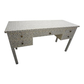 Restoration Hardware Teen Salma Mosaic Inlay Desk