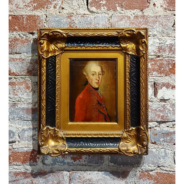 """18th Century """"Ferdinand DI Borbone, King of Naples"""" Oil Painting For Sale - Image 10 of 10"""