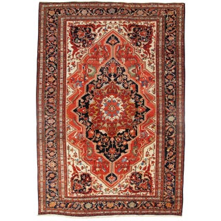 "19th Century Persian Sarouk Farahan Rug - 10'6"" X 15'3"" For Sale"
