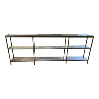Mitchell Gold Low Vienna Bookcase For Sale
