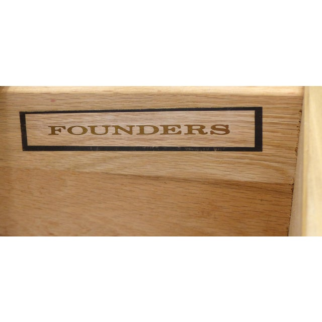 Mid-Century Maple Dresser or Cabinets by Jack Cartwright for Founders Furniture - Image 10 of 10