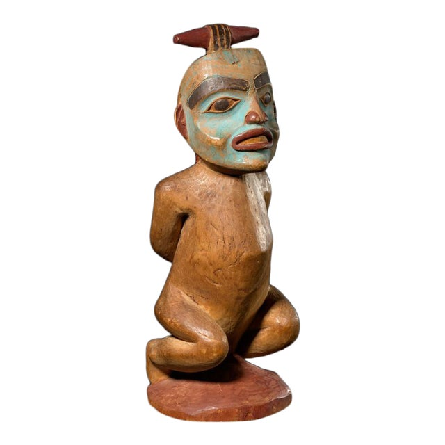 Shaman Figure of a Bound Witch, Late 19th Century For Sale