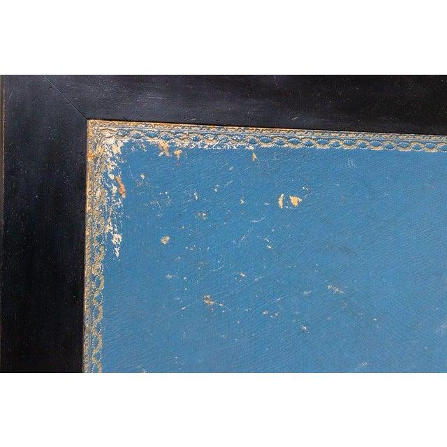 1920s French Ebonized Mahogany Writing Desk For Sale - Image 11 of 13