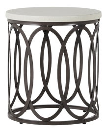 Image of Gray Outdoor Side Tables
