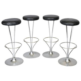 Four Piet Hein Barstools For Sale