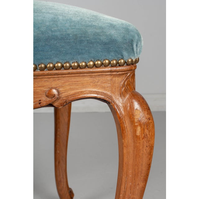 French Louis XV Style Dining Chairs - Set of Six For Sale - Image 9 of 10