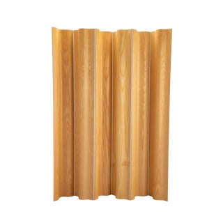 Mid-Century Modern Fws Molded Plywood Folding Screen by Charles & Ray Eames for Herman Miller For Sale