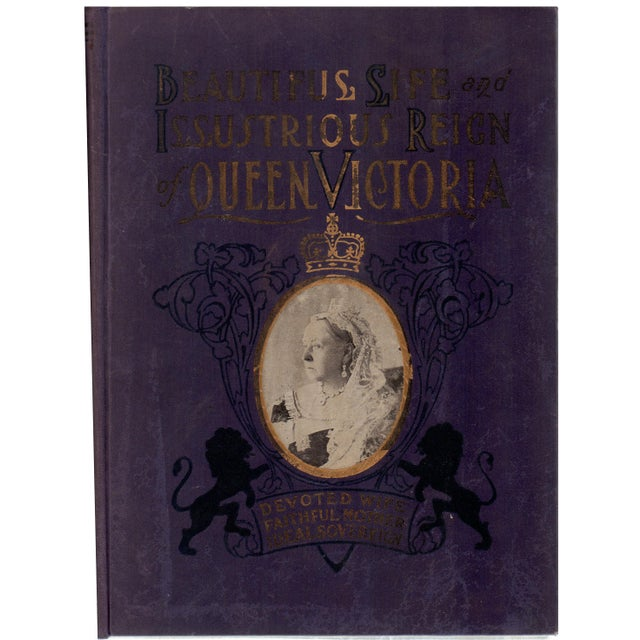 The Illustrious Reign of Queen Victoria Book - Image 1 of 4