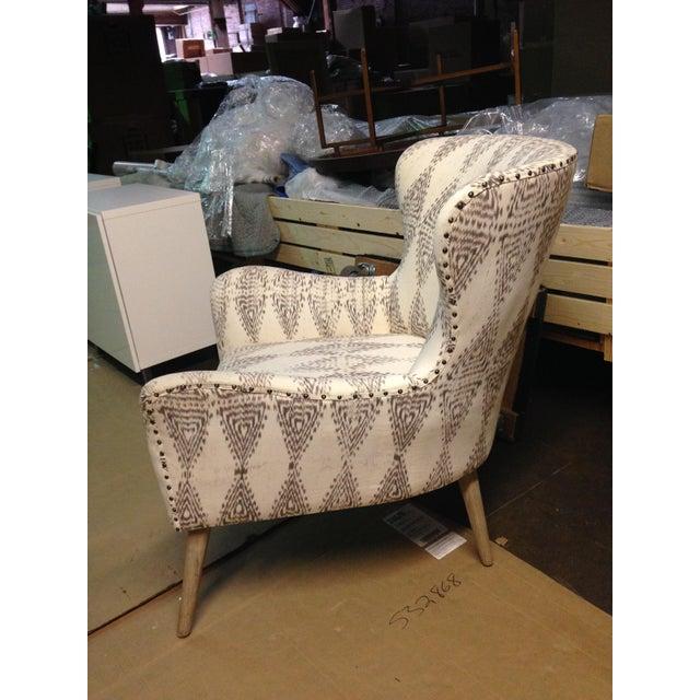 Hardword Frame Lounge Chair - Image 3 of 8