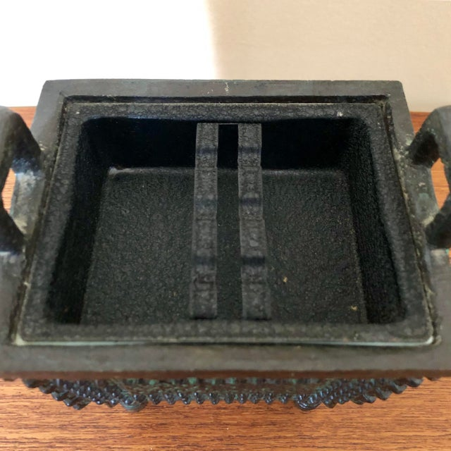Asian Vintage James Mont Ice Bucket For Sale - Image 3 of 6
