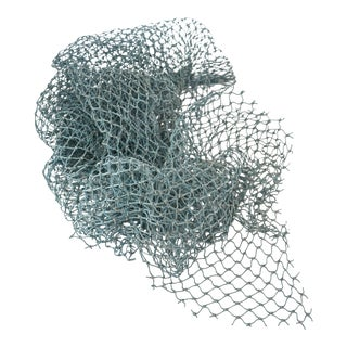 Aqua Blue Marine Fishing Net
