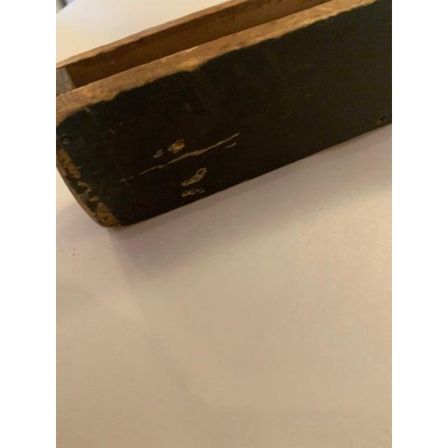 Folk Art Oversized Wooden Pocket Knife For Sale - Image 4 of 6
