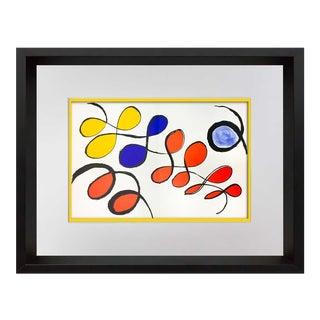 1970s Vintage Alexander Calder Lithograph Print For Sale