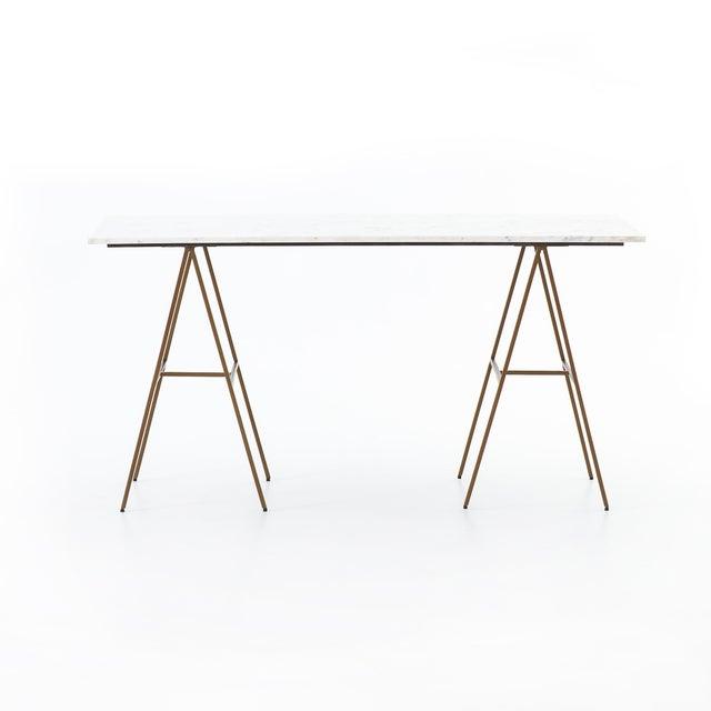 Erdos + Ko Home Contemporary Erdos + Ko Emory Writing Desk For Sale - Image 4 of 8