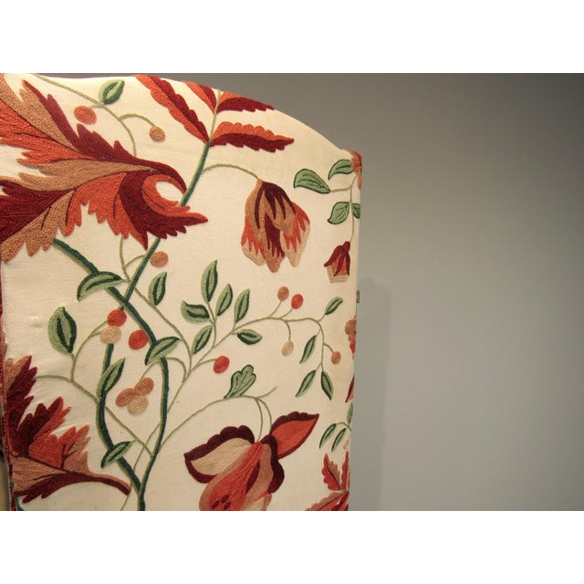 Floral Scalamandre Room Divider For Sale In West Palm - Image 6 of 7