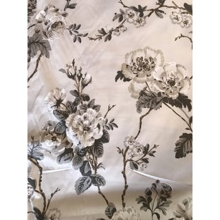 """Betty"" Cotton Chintz Floral Fabric by Schumacher - 2 1/2 Yards For Sale"