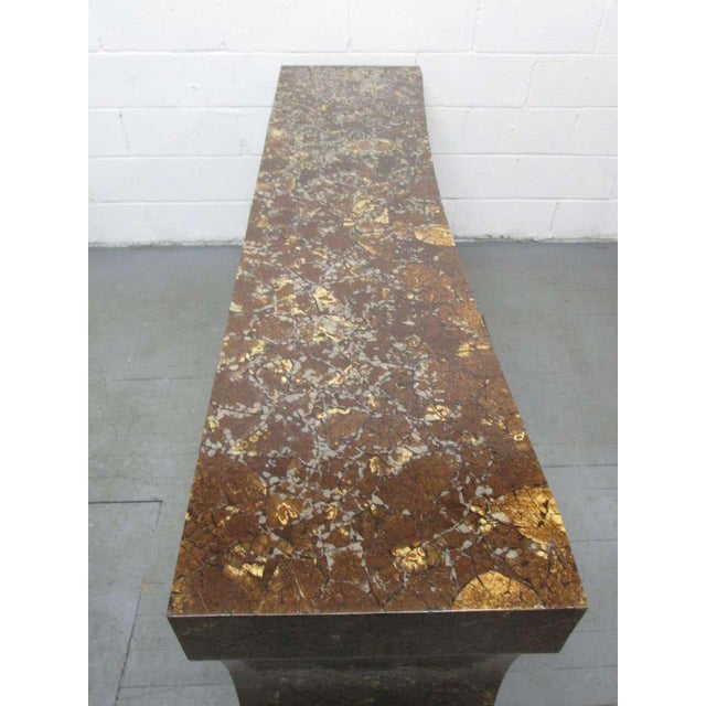 Enrique Garcel Lacquered Coconut Shell Console Table - Image 4 of 9
