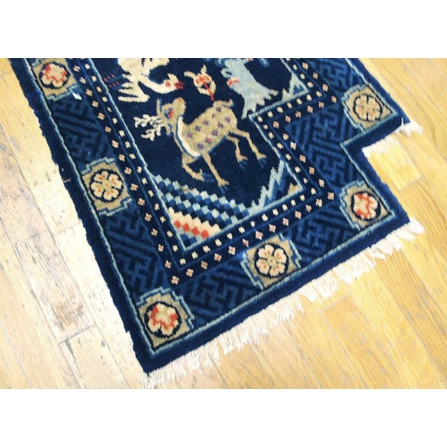 Chinese Antique 1920s Chinese Wool Horse Cover For Sale - Image 3 of 5