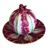 Image of Late 20th Century Meissen Marcolini Repro Mottahedeh Wallendorf Cabbage Tureen For Sale