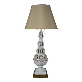Spanish Ceramic Table Lamp For Sale