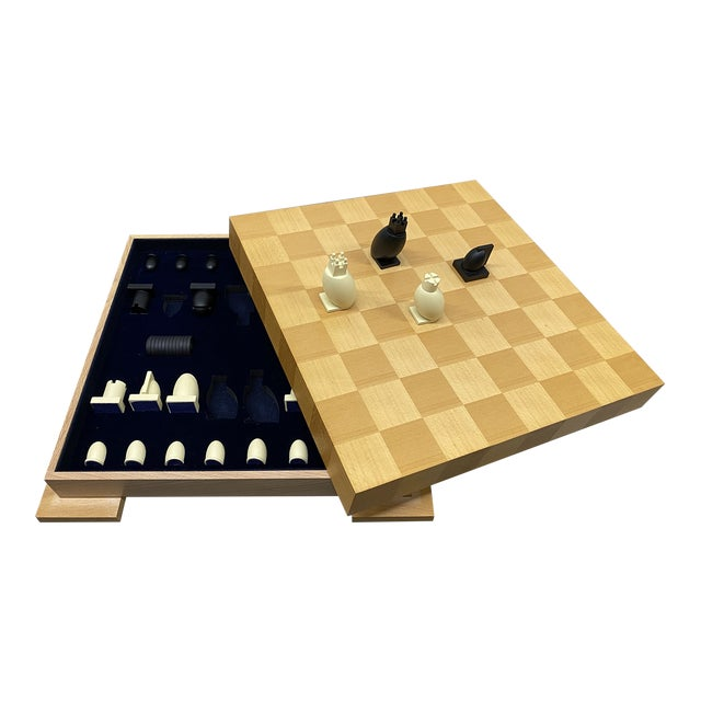 1990s Postmodern Chess / Checkers Set by Michael Graves For Sale